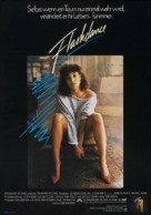 Flashdance - German Movie Poster (xs thumbnail)