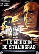 Der Arzt von Stalingrad - French Movie Poster (xs thumbnail)