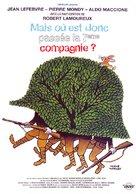 Mais où est donc passèe la septiéme compagnie? - French Movie Cover (xs thumbnail)