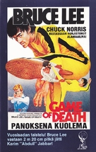 Game Of Death - Finnish VHS movie cover (xs thumbnail)