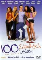 100 Girls - Czech DVD cover (xs thumbnail)