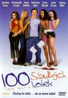 100 Girls - Czech DVD movie cover (xs thumbnail)