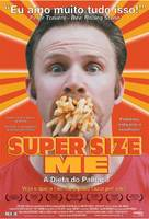 Super Size Me - Brazilian Movie Poster (xs thumbnail)