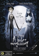 Corpse Bride - Hungarian Movie Poster (xs thumbnail)