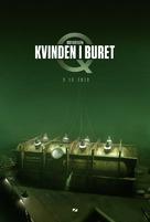 Kvinden i buret - Danish Movie Poster (xs thumbnail)