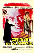 Gritos en la noche - Spanish Movie Poster (xs thumbnail)