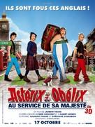 Astérix et Obélix: Au Service de Sa Majesté - French Movie Poster (xs thumbnail)