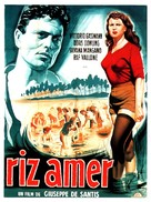 Riso amaro - French Movie Poster (xs thumbnail)