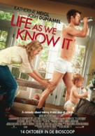 Life as We Know It - Dutch Movie Poster (xs thumbnail)