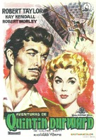 The Adventures of Quentin Durward - Spanish Movie Poster (xs thumbnail)