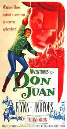 Adventures of Don Juan - Movie Poster (xs thumbnail)