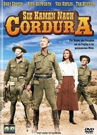 They Came to Cordura - German DVD cover (xs thumbnail)
