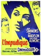 Hilda Crane - French Movie Poster (xs thumbnail)