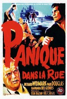Panic in the Streets - French Movie Poster (xs thumbnail)