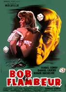Bob le flambeur - French Movie Poster (xs thumbnail)