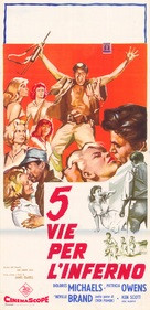 Five Gates to Hell - Italian Movie Poster (xs thumbnail)