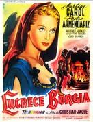 Lucrèce Borgia - Belgian Movie Poster (xs thumbnail)