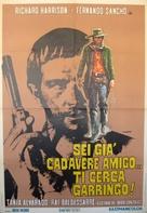 Abre tu fosa, amigo, llega Sábata... - Italian Movie Poster (xs thumbnail)