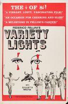 Luci del varietà - Re-release poster (xs thumbnail)