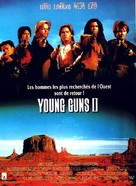 Young Guns 2 - French Movie Poster (xs thumbnail)