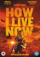 How I Live Now - British DVD movie cover (xs thumbnail)