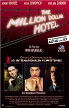 The Million Dollar Hotel - German DVD cover (xs thumbnail)