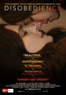 Disobedience - Australian Movie Poster (xs thumbnail)
