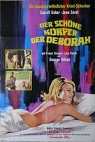 Il dolce corpo di Deborah - German Movie Poster (xs thumbnail)