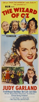 The Wizard of Oz - Theatrical movie poster (xs thumbnail)