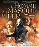 The Man in the Iron Mask - French Blu-Ray movie cover (xs thumbnail)