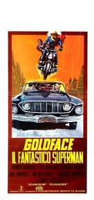 Goldface, il fantastico superman - Italian Movie Poster (xs thumbnail)
