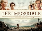 Lo imposible - British Movie Poster (xs thumbnail)