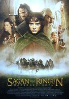 The Lord of the Rings: The Fellowship of the Ring - Swedish Movie Poster (xs thumbnail)