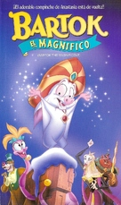Bartok the Magnificent - Argentinian VHS cover (xs thumbnail)