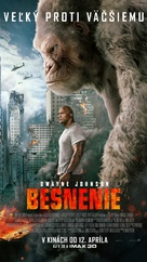 Rampage - Slovak Movie Poster (xs thumbnail)
