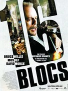 16 Blocks - French Movie Poster (xs thumbnail)