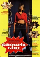 Groupie Girl - German Movie Poster (xs thumbnail)