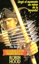 Robin Hood: Men in Tights - Argentinian VHS movie cover (xs thumbnail)