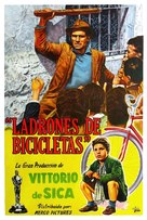 Ladri di biciclette - Argentinian Movie Poster (xs thumbnail)