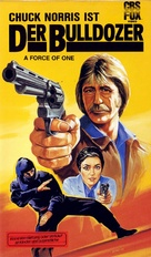 A Force of One - German VHS movie cover (xs thumbnail)