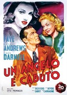 Fallen Angel - Italian Movie Poster (xs thumbnail)