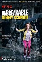 """Unbreakable Kimmy Schmidt"" - Brazilian Movie Poster (xs thumbnail)"