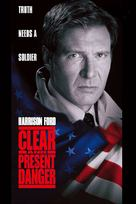 Clear And Present Danger - VHS cover (xs thumbnail)