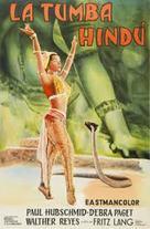 Das iIndische Grabmal - Argentinian Movie Poster (xs thumbnail)