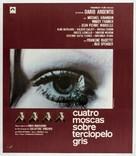4 mosche di velluto grigio - Spanish Movie Poster (xs thumbnail)
