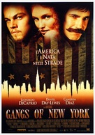 Gangs Of New York - Italian Movie Poster (xs thumbnail)