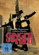 Ginger e Fred - German Movie Cover (xs thumbnail)