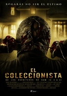 The Collector - Mexican Movie Poster (xs thumbnail)