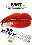 Top Secret - German Movie Poster (xs thumbnail)