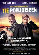 Tie Pohjoiseen - Finnish Movie Poster (xs thumbnail)